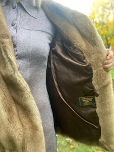 Faye Faux fur coat