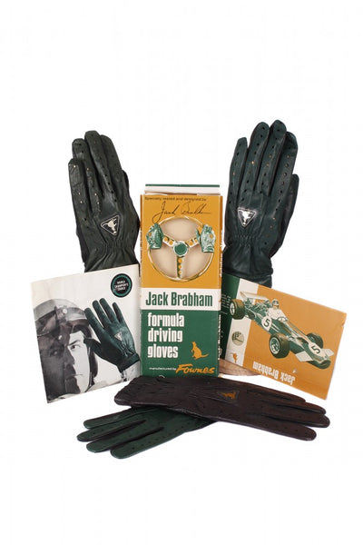 Jack Brabham Driving Gloves c1964-1974