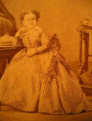 Minnie Warren (June 2nd 1849 - July 23rd 1878)