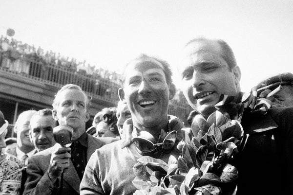 Stirling Moss at Aintree