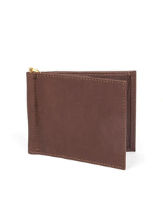 Handmade Heritage Soft Lambskin Leather Wallet with Money Clip
