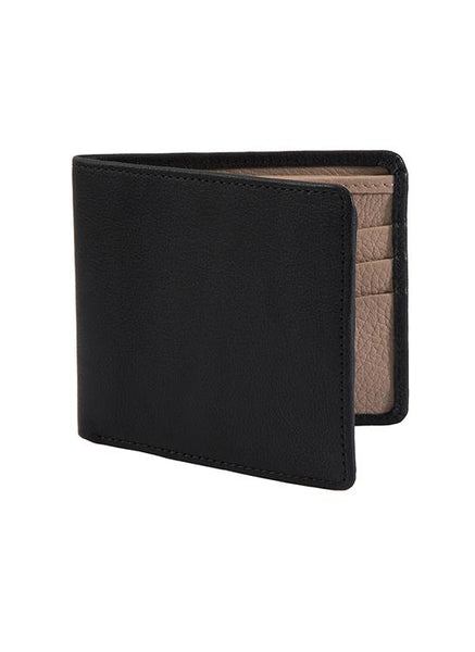 Handmade Heritage Pebble Grain Lambskin Leather Wallet