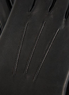 Men's Unlined Touchscreen Leather Gloves