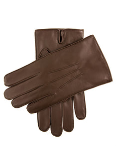 Men's Fleece Lined Leather Gloves