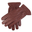 Men's Handsewn Cashmere Lined Deerskin Leather Gloves