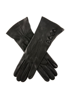 Women's Silk Lined Leather Gloves