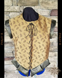 Antique Bronze Doublet - Men's Extra Large 18th Century Style