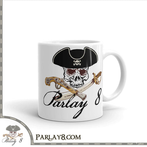 Parlay 8's Jolly Roger Coffee Mug