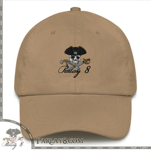 Parlay 8's Jolly Roger Traditional style hat