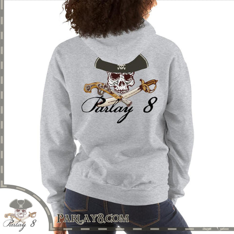 Parlay 8's Jolly Roger Hooded Sweatshirt
