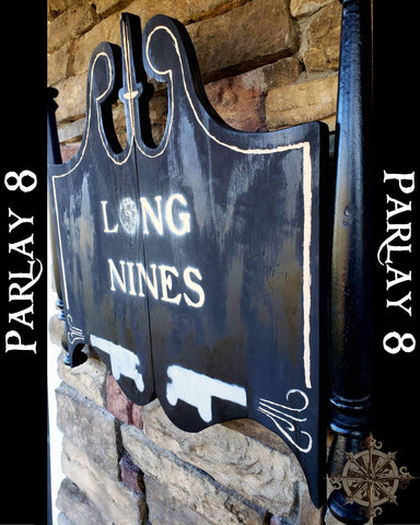 Long Nine Pub Sign
