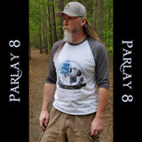Parlay 8's Treasure Chest Vintage Logo 3/4 sleeve shirt
