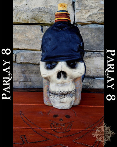Rum Pirate Skull bottle