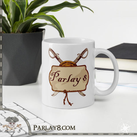 Parlay 8's Tavern Pub Sign Coffee Mug