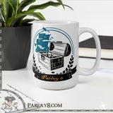 Parlay 8's Vintage Treasure Chest Coffee Mug