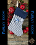 Christmas Nautical Stocking