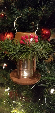 Christmas Miniature Hanging Lantern