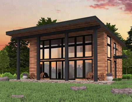 2018 DAQUAN modern design luxury prefab house china prefabricated homes