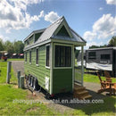 2018 Hot Sales Customised made Manufacturer provide prefab tiny house on wheels