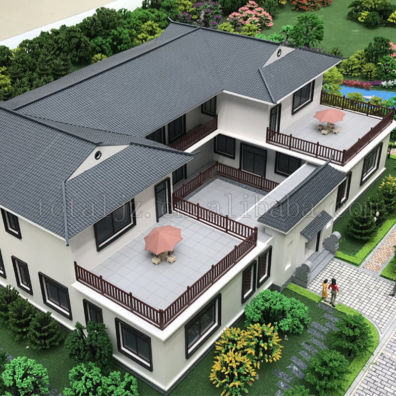 2019 high quality steel prefabricated house design prefab modern luxury villa