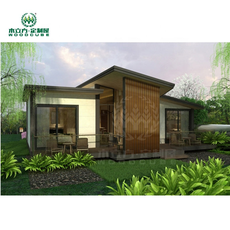 Wood Cube Container House