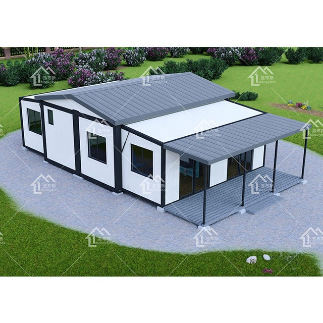 40ft Prefab Modern Three Bedrooms Living Expandable Container House