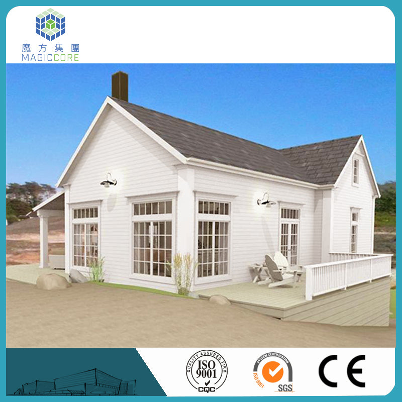Cheap Simple Light Steel Structure Prefabricated modern small Villa House