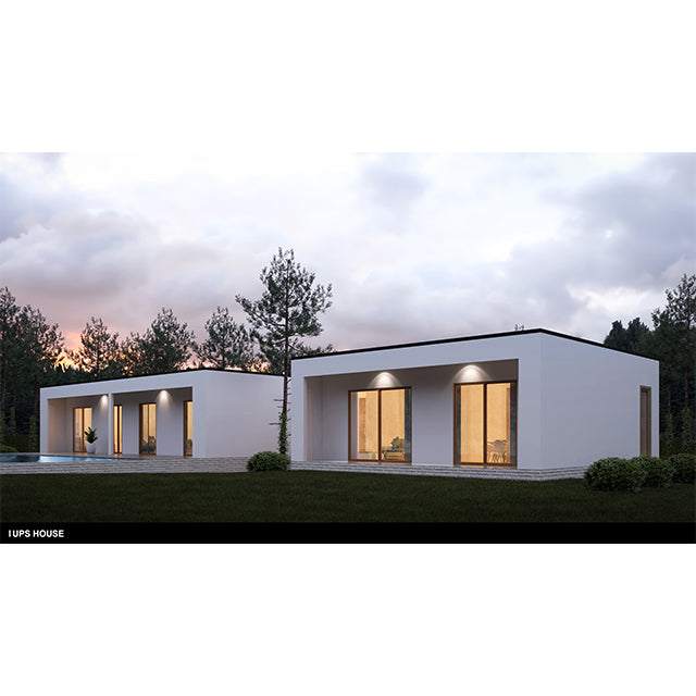 China 2 bedroom prefabricated modular houses modern cheap prefab homes