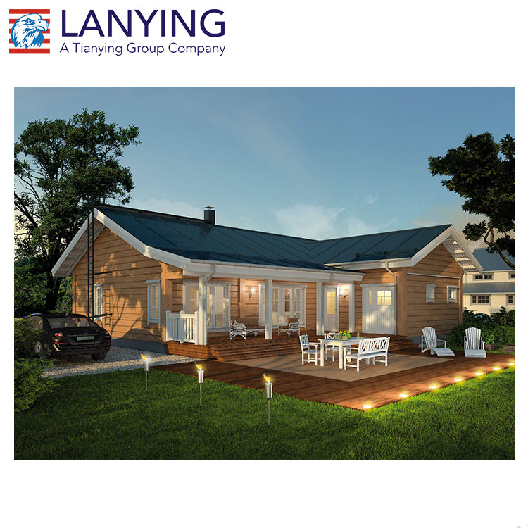 China Low Cost New Design Prefabricated Homes/prefab House/ Sandwich Panel Prefabricated House,