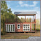 China Steel Frame latest design luxury Prefab Container House/ Modular Container Homes for