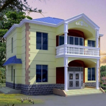 Eco-friendly customized steel villa  House use luxury prefabricated light steel house prefab steel villa