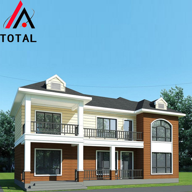 Environmental protection Water proof Eco friendly prefabricated light steel luxury villa
