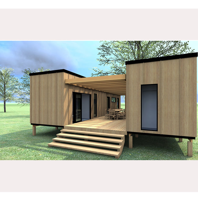 High Quality Modern Design Glass Modular Prefab Container Homes