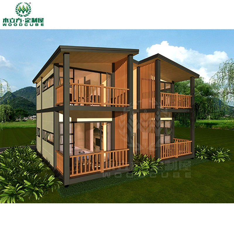 Homes prefab houses container 2019 luxury steel prefab house