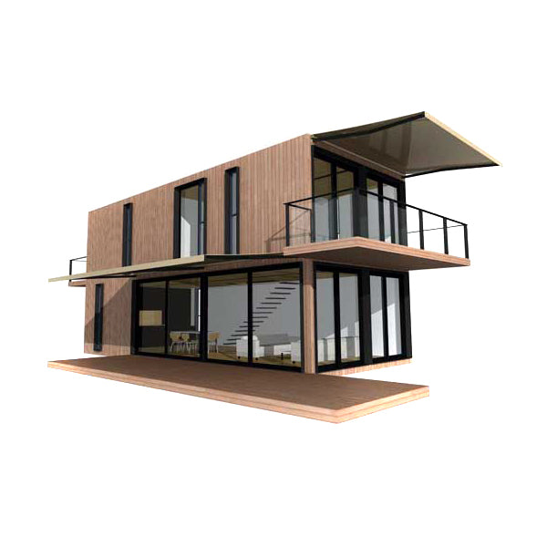 Low Cost Chinese Manufacture 2 Stories Prefab Container Homes/Container House