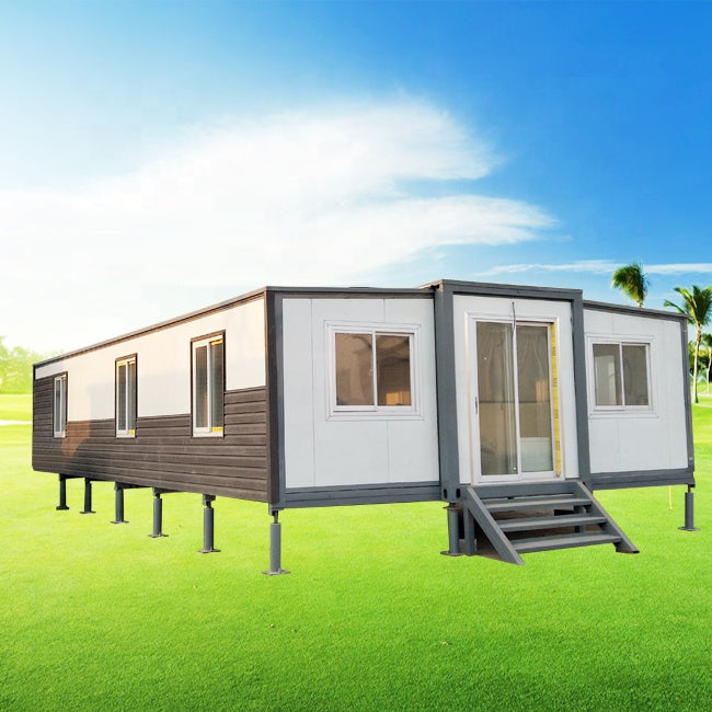 Lowes australia standard 40ft folding container house with layout of 3 bedrooms home kits
