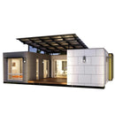 Luxury prefab house ready made economical portable living small home Modular house prefab house