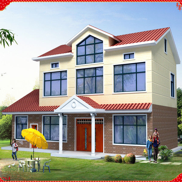 Manufacturer new design prefabricated house usa
