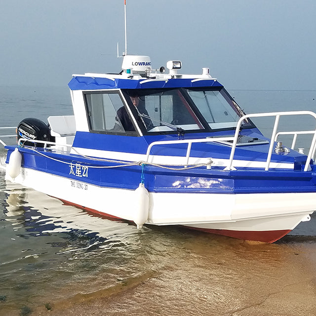 Modern heat resistant house boat