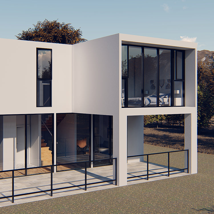 Steel/ Cement Framing Modern Homes Prefab House Prefabricated