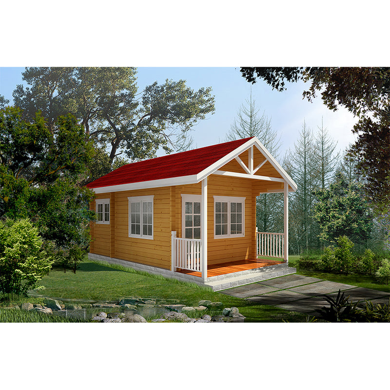 bungalow prefabricated wooden house small house