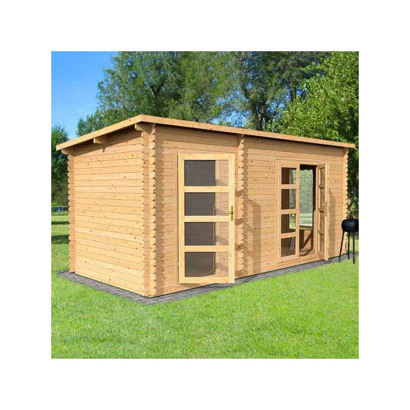 eco-friendly wood portable log cabins prefabricated Newest design  wooden villa for vacation easy assemble hottest selling prefa