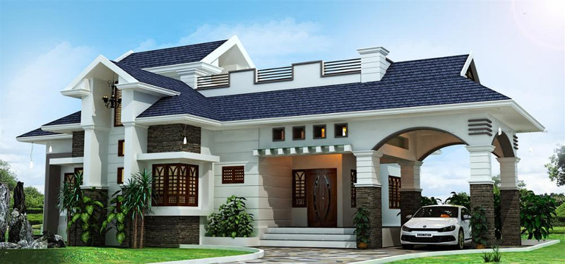 high quality steel villa home from shanghai conrayn