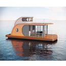 house boat rotomolding customized floating house for home living