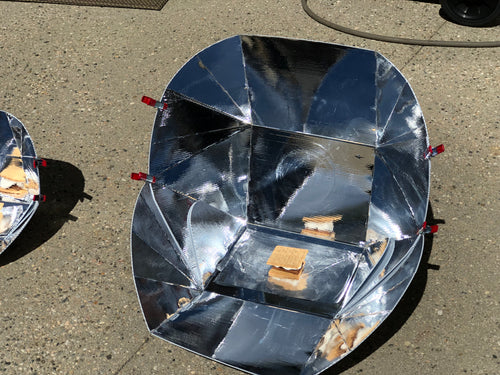Duo - A solar cooker designed for two