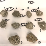 """MelaConductor"" Pyrite Abundance Nuggets"