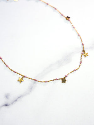 My Starry  Eyes Bracelet/ Choker - 18k Gold Wrap Bracelet or Choker