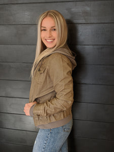 Girl Next Door hooded jacket