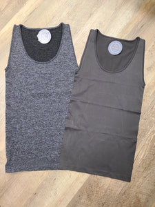 Seamless Tank Top(2 colors)