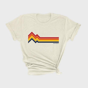 Cows and Cacti SD Mountains Oatmeal Graphic Tee